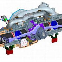 Kitekintő: a világ legérdekesebb belső égésű motorjai - EcoMotors OPOC Engine