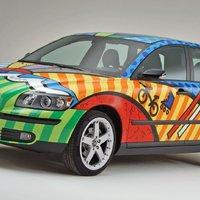Volvo V50 T5 Pop Art by Romero Britto