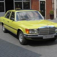 Mercedes-Benz (W116) 280 SE (Mimózasárga)
