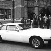 The Saint's (Angyal) Jaguar XJS