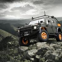 Mercedes-Benz G Light Armoured Patrol Vehicle (LAPV) 6.X