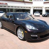Porsche Panamera Turbo (Amethyst metallic)