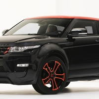 Range Rover Evoque Black by Startech