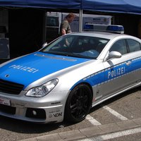 Mercedes-Benz CLS Brabus V12 S Police