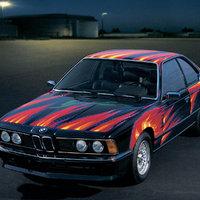 BMW 635 CSi (E24) - 3 (á la Ernst Fuchs)