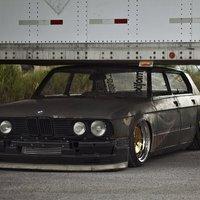 BMW E28 Rat Rod