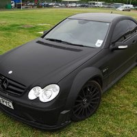 Mercedes-Benz CLK 63 Black Series (matt fekete)