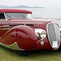 Delahaye MS 165 V12 Figoni & Falaschi Roadster