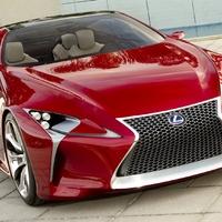 Lexus LF-FC Hybrid Sportcoupe