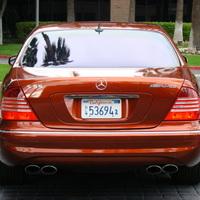 Mercedes-Benz W220 S55 L AMG (Designo Orange)