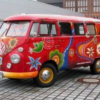 Volkswagen Transporter T1 Bulli Hippiebus