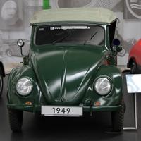 Volkswagen Bogár Polizei Cabriolet Typ 18a