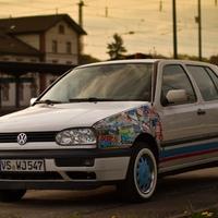 Volkswagen Golf 3 Stickerbomb