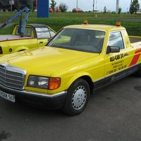 Mercedes-Benz W126 Pick-up