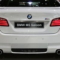 BMW M5 (F10) artist rendering