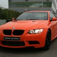 BMW M3 Tiger Edition for China (Fire orange metallic)
