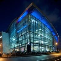 Kitekintő: a világ legszebb márkakereskedései - Mercedes-Benz Berlin Salzufer