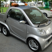 Smart cdi 6-kerekű Pick-up