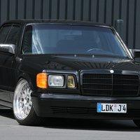Mercedes-Benz W126 380 SE 6,0 by Inden Design