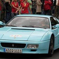 Ferrari 512 TR (colore costa smeralda)