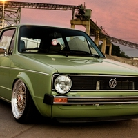 Volkswagen Golf 1 Rabbit Low Rider