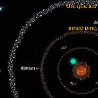 Az Astromundi törmelékűr térképe