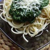 Spagetti tonhalas spenóttal