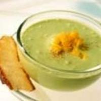 Avokádó leves spenóttal