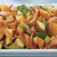 Burgonyás spenót saláta