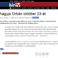 Hírt hamisított a HírTV és a Heti Válasz