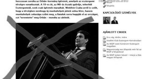 Az MSZP kimaxolja az uborkaszezont cigányozás és Ron Werber-cenzúra.png