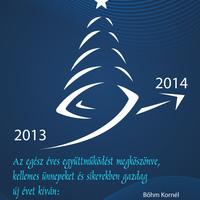 Boldog ünnepeket, sikeres új évet!