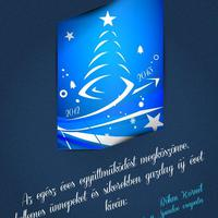 Boldog ünnepeket, sikerekben gazdag új évet kívánunk!