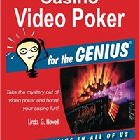 ??UPD?? Casino Video Poker For The GENIUS. paises quattro school lider smart