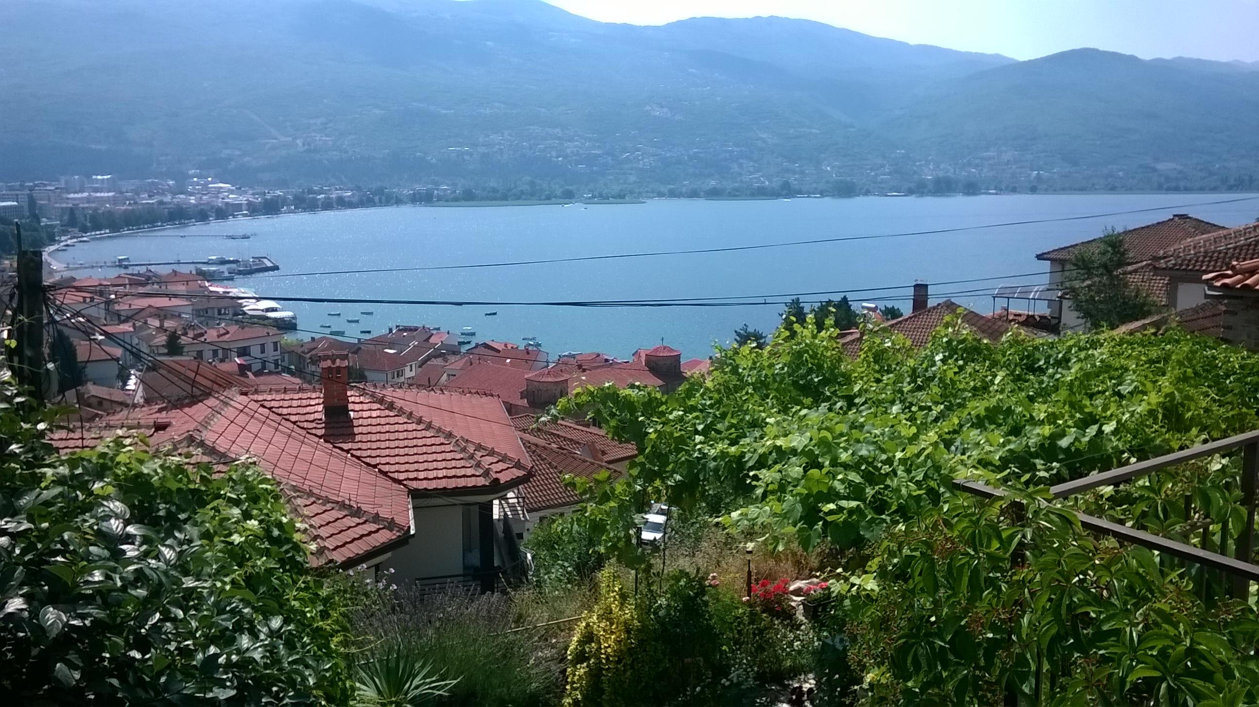 Ohridi tó. Soha rosszabb látképet!