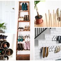 Így tárold olcsón és stílusosan a cipőidet!