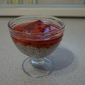 Epres chia puding, a tökéletes Valentin-napi desszert!