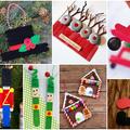 Mesés karácsonyfadísz-ötletek egyszerű faspatulából!
