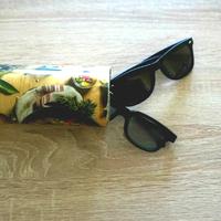 Így lesz chips csomagolásból praktikus napszemüvegtok!