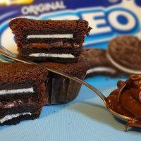 Oreos muffin, ahogy a mókusok szeretik. Nem, nem kicsit hizlal. Nagyon.