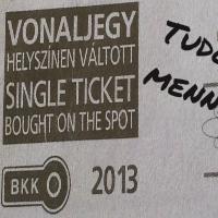 150 forintot buktam egy BKV-jegy vásárlásával...