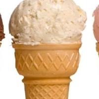 Fagyi fél áron. Végre! Fagylalt Nap! :)