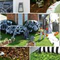 Hátborzongatóan klassz halloweeni kerti dekorációk