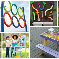 Készíts fantasztikus gyerekjátékokat a kertbe!