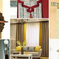 147 függöny kiegészítő ötlet, amivel a régi függöny is újjá születhet