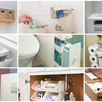 A fürdőszoba-rendszerezés és rendrakás első 7 vasszabálya