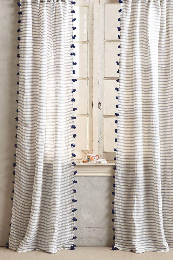 147 függöny kiegészítő ötlet, amivel a régi függöny is újjá