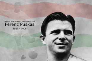 Hat éve hunyt el Puskás Ferenc!