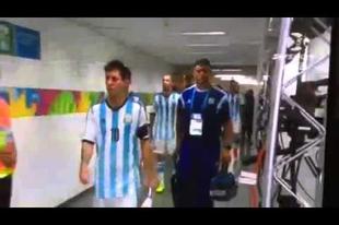 Messi és a kisfiú