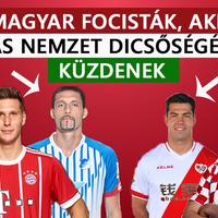 Magyar focisták, akik más nemzet dicsőségéért küzdenek